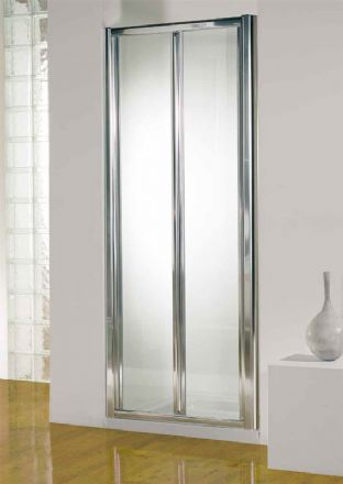 Kudos 760mm Silver Bi-Fold Door